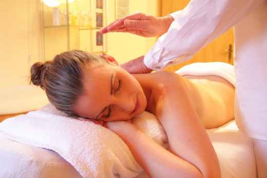 woman relaxing relax spa